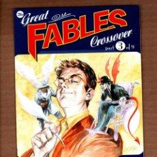 Cómics: GREAT FABLES CROSSOVER : THE LITERALS 1 - DC VERTIGO 2009 VFN/NM / BILL WILLINGHAM. Lote 244654135