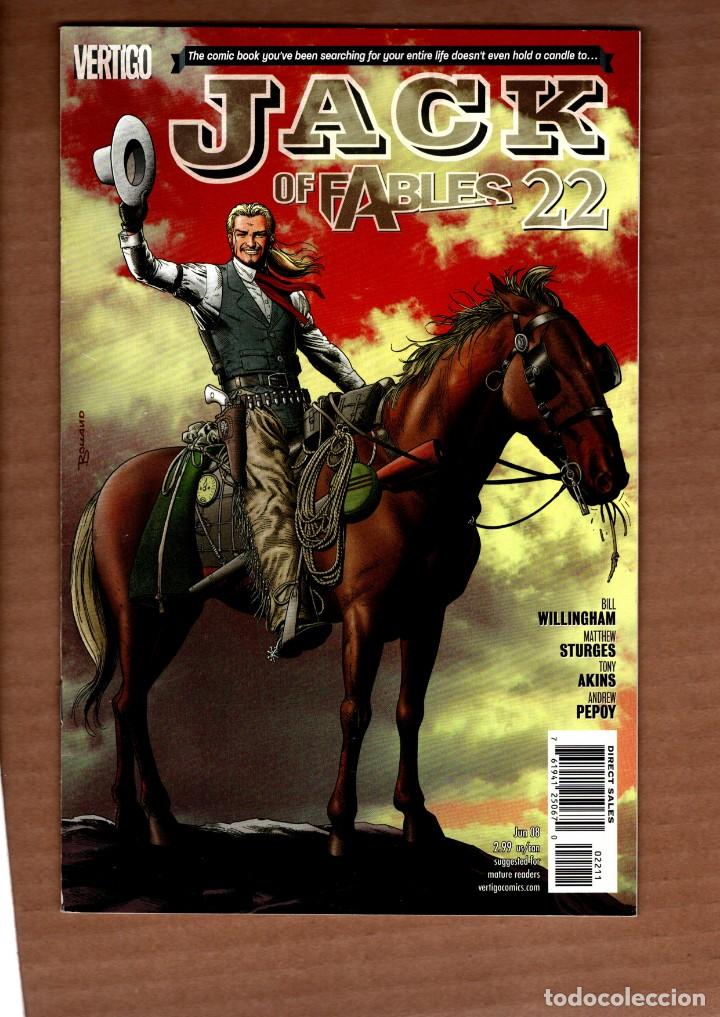 JACK OF FABLES 22 - DC VERTIGO 2008 VFN/NM / BILL WILLINGHAM (Tebeos y Comics - Comics Lengua Extranjera - Comics USA)