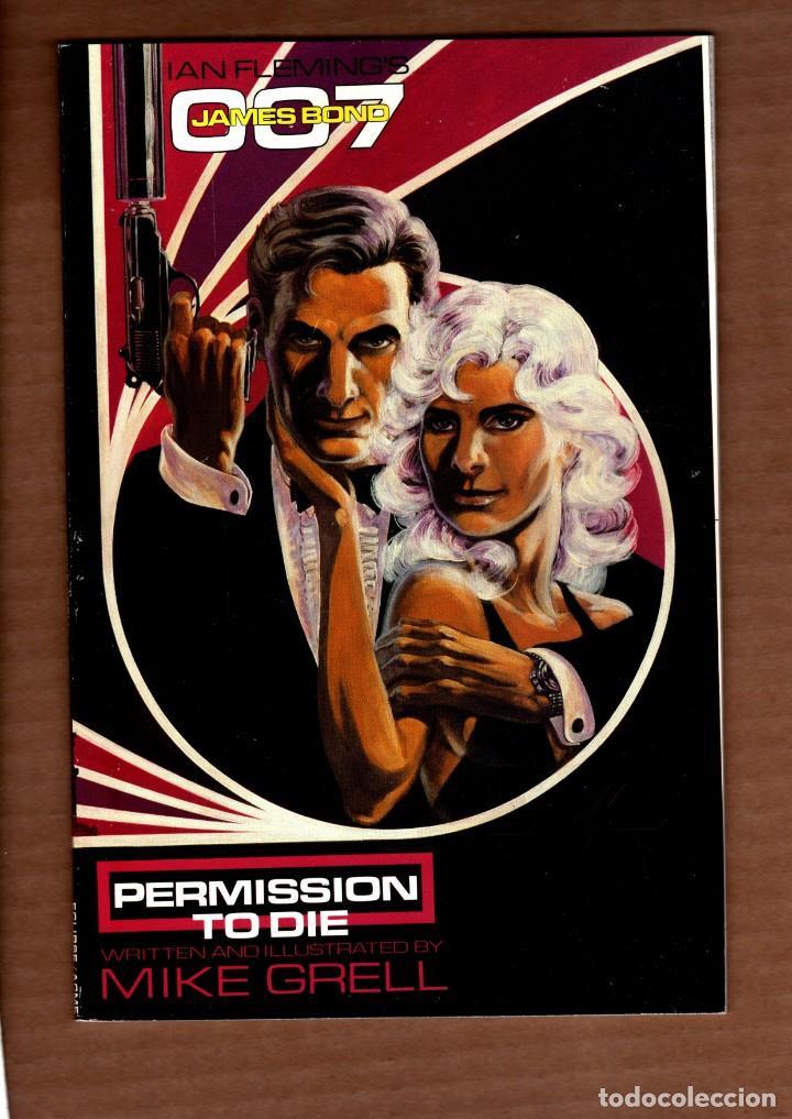 JAMES BOND 007 : PERMISSION TO DIE 1 - ECLIPSE 1991 VFN PRESTIGE / MIKE GRELL (Tebeos y Comics - Comics Lengua Extranjera - Comics USA)