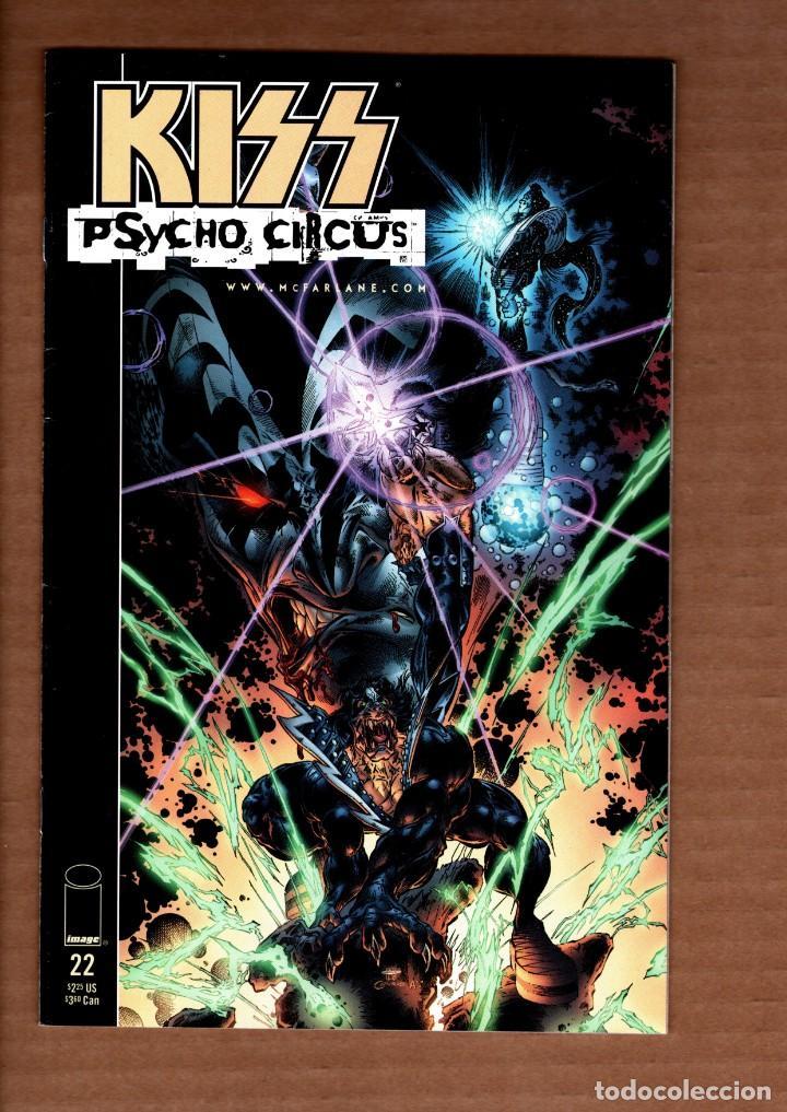 KISS PSYCHO CIRCUS 22 - IMAGE 1999 VFN (Tebeos y Comics - Comics Lengua Extranjera - Comics USA)