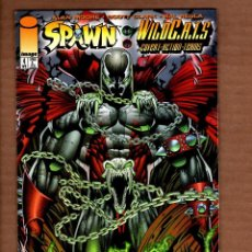 Cómics: SPAWN / WILDCATS 4 - IMAGE 1996 VFN / ALAN MOORE & SCOTT CLARK. Lote 244712335