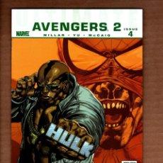 Cómics: ULTIMATE AVENGERS II 4 - MARVEL 2010 VFN/NM / MARK MILLAR. Lote 244720805