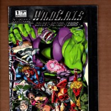 Cómics: WILDCATS SOURCEBOOK - IMAGE 1993 VFN/NM SILVER FOIL ENHANCED COVER. Lote 244724425