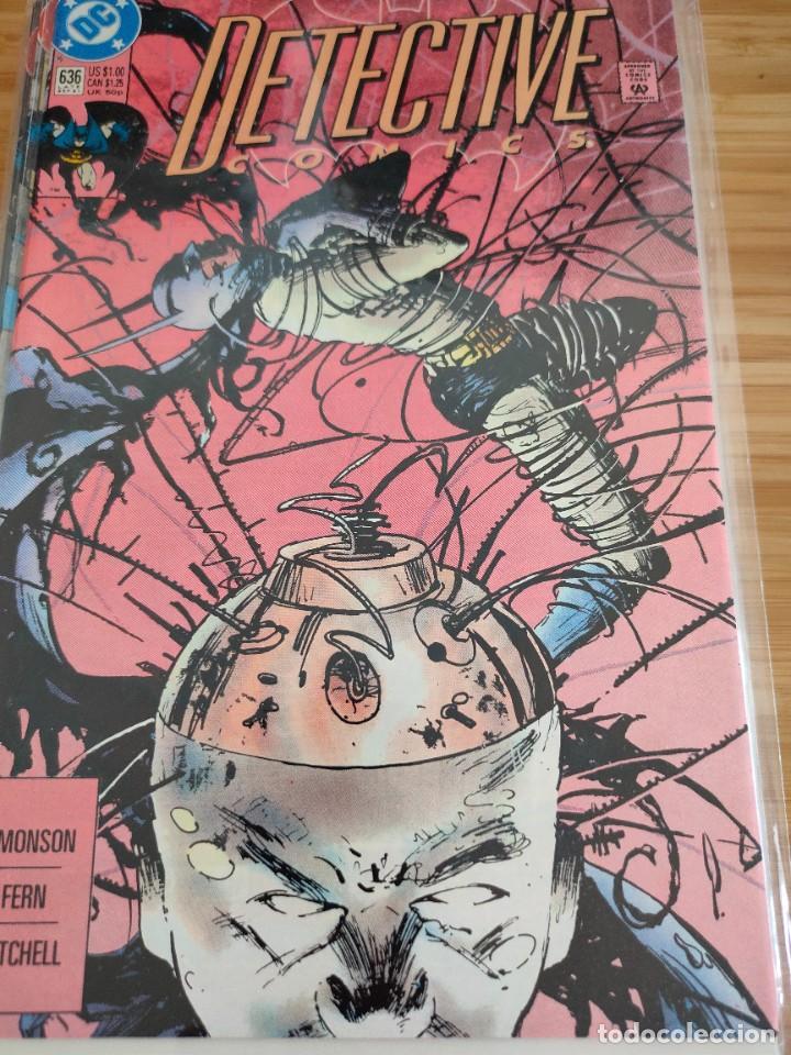 BATMAN DETECTIVE COMICS 636 VOL 1 DC (Tebeos y Comics - Comics Lengua Extranjera - Comics USA)