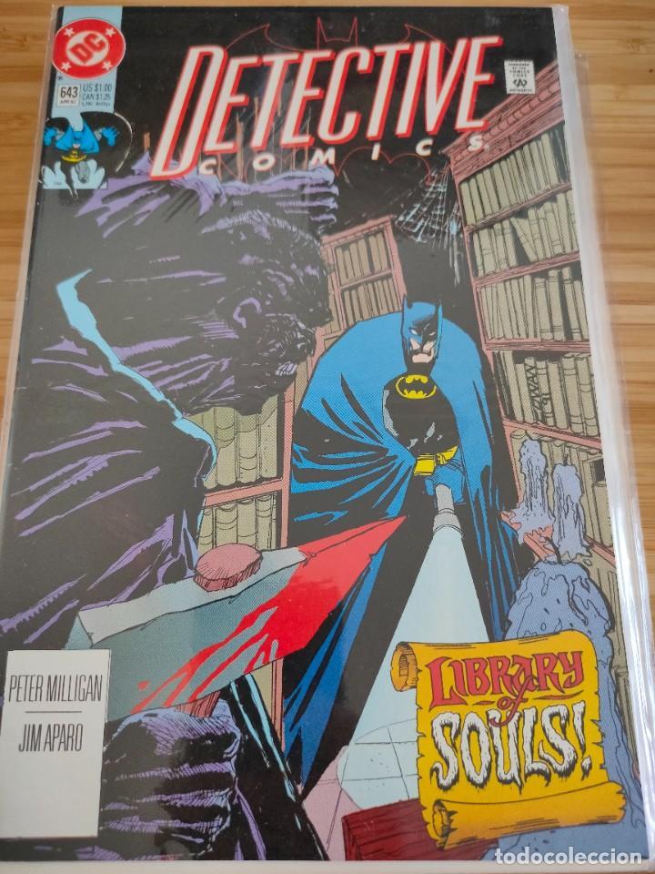 BATMAN DETECTIVE COMICS 643 VOL 1 DC (Tebeos y Comics - Comics Lengua Extranjera - Comics USA)