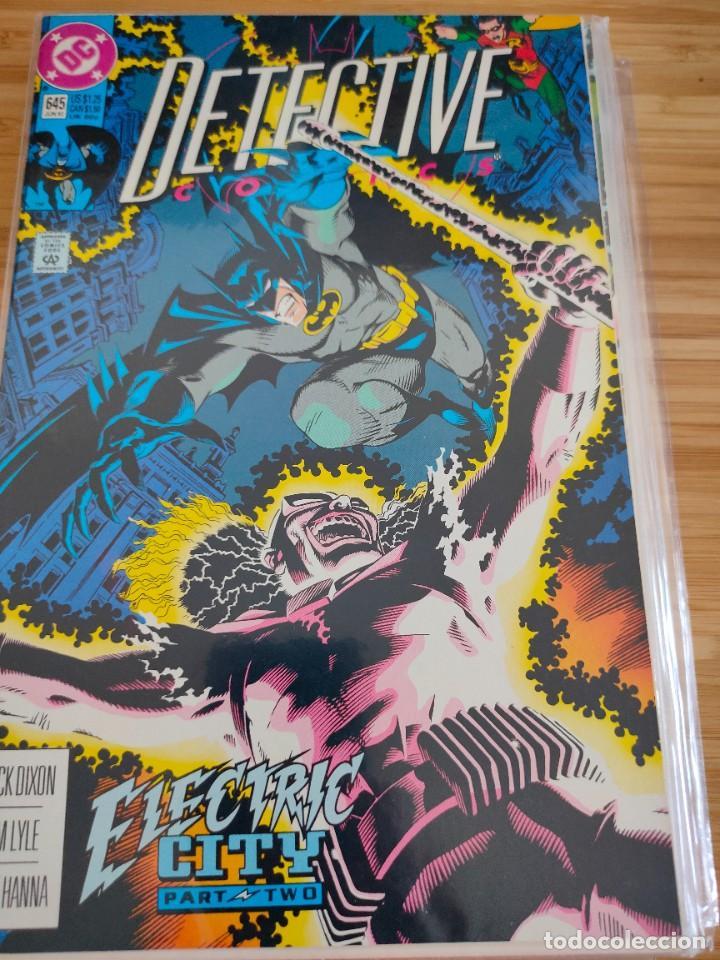 BATMAN DETECTIVE COMICS 645 VOL 1 DC (Tebeos y Comics - Comics Lengua Extranjera - Comics USA)