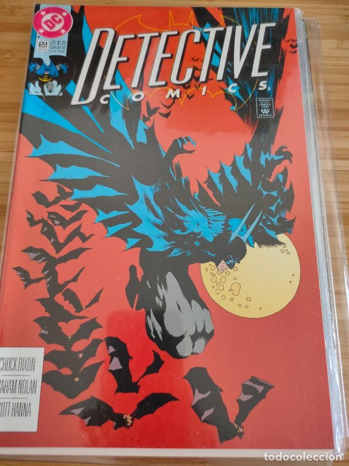 BATMAN DETECTIVE COMICS 651 VOL 1 DC (Tebeos y Comics - Comics Lengua Extranjera - Comics USA)