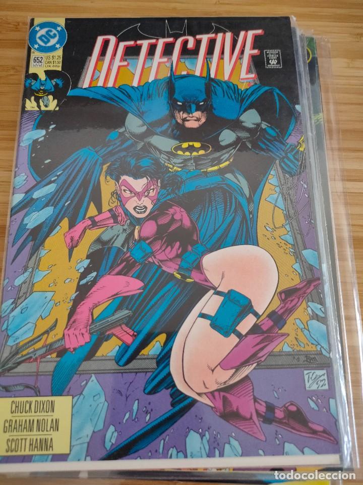 BATMAN DETECTIVE COMICS 652 VOL 1 DC (Tebeos y Comics - Comics Lengua Extranjera - Comics USA)