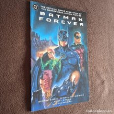 Cómics: BATMAN FOREVER DC USA COMIC ADAPTATION OF THE MOVIE. Lote 245069295