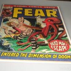 Cómics: FEAR 9. Lote 245740240
