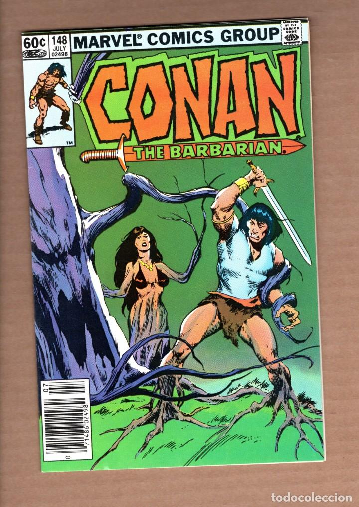 CONAN THE BARBARIAN 148 - MARVEL 1983 VFN/NM / BRUCE JONES & JOHN BUSCEMA (Tebeos y Comics - Comics Lengua Extranjera - Comics USA)