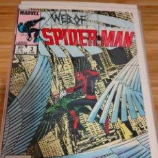 Cómics: WEB OF SPIDER MAN 3 VOL 1 MARVEL SPIDERMAN (1985 SERIES). Lote 246062555