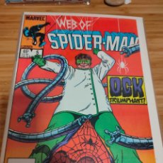 Cómics: WEB OF SPIDER MAN 5 VOL 1 MARVEL SPIDERMAN (1985 SERIES). Lote 246062985