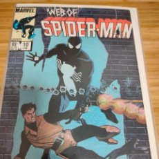 Cómics: WEB OF SPIDER MAN 10 VOL 1 MARVEL SPIDERMAN (1985 SERIES). Lote 246065145
