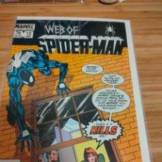 Cómics: WEB OF SPIDER MAN 12 VOL 1 MARVEL SPIDERMAN (1985 SERIES). Lote 246065930