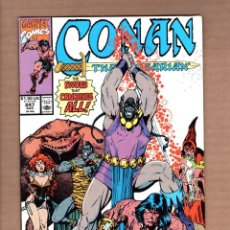 Cómics: CONAN THE BARBARIAN 247 - MARVEL 1991 VFN / RED SONJA / ZULA. Lote 246076775
