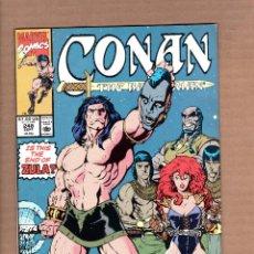 Cómics: CONAN THE BARBARIAN 248 - MARVEL 1991 VFN / RED SONJA / ZULA. Lote 246077005