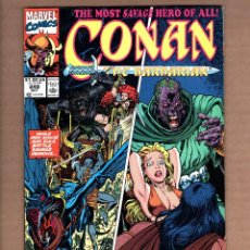 Cómics: CONAN THE BARBARIAN 249 - MARVEL 1991 VFN / RED SONJA / ZULA. Lote 246077315