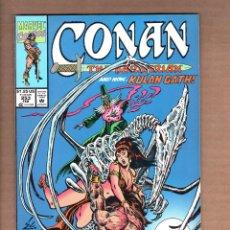 Cómics: CONAN THE BARBARIAN 253 - MARVEL 1992 VFN. Lote 246078295