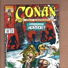 Cómics: CONAN THE BARBARIAN 254 - MARVEL 1992 VFN. Lote 246078535