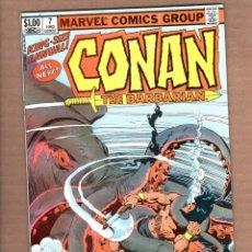 Cómics: CONAN THE BARBARIAN ANNUAL 7 - MARVEL 1982 VFN+ / ROY THOMAS & JOHN BUSCEMA. Lote 246080970