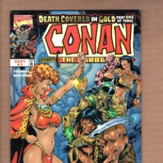 Cómics: CONAN THE BARBARIAN : DEATH COVERED IN GOLD 1 2 3 COMPLETE - MARVEL 1999 VFN/NM / BUSCEMA. Lote 246117835