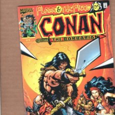 Cómics: CONAN THE BARBARIAN : FLAME AND THE FIEND 1 - MARVEL 2000 VFN/NM. Lote 246118365