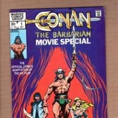 Cómics: CONAN THE BARBARIAN MOVIE SPECIAL 1 2 COMPLETA - MARVEL 1983 VFN-. Lote 246119770