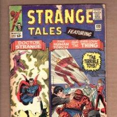 Cómics: STRANGE TALES 133 - MARVEL 1965 VG- / HUMAN TORCH & THING / DOCTOR STRANGE / STEVE DITKO. Lote 246121750