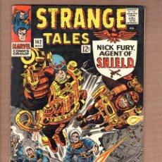 Cómics: STRANGE TALES 142 - MARVEL 1966 FN / SHIELD / DOCTOR STRANGE / LEE / KIRBY / DITKO. Lote 246123200
