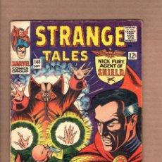 Cómics: STRANGE TALES 148 - MARVEL 1966 VG / SHIELD / DOCTOR STRANGE / ORIGIN OF THE ANCIENT / KIRBY. Lote 246128800