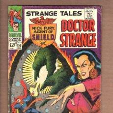 Cómics: STRANGE TALES 152 - MARVEL 1967 VG / SHIELD / DOCTOR STRANGE / LEE / KIRBY / STERANKO. Lote 246129435