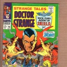 Cómics: STRANGE TALES 156 - MARVEL 1967 VG+ / SHIELD / DOCTOR STRANGE / STERANKO. Lote 246130190