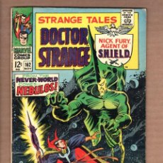 Cómics: STRANGE TALES 162 - MARVEL 1967 VG+ / SHIELD / DOCTOR STRANGE / STERANKO. Lote 246130680