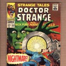 Cómics: STRANGE TALES 164 - MARVEL 1968 FN / SHIELD / DOCTOR STRANGE / STERANKO. Lote 246131295