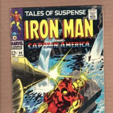 Cómics: TALES OF SUSPENSE 99 - MARVEL 1968 FN LAST ISSUE / IRON MAN / CAPTAIN AMERICA / LEE / KIRBY / COLAN. Lote 246132630