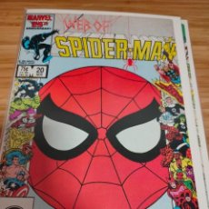 Cómics: WEB OF SPIDER MAN 20 VOL 1 MARVEL SPIDERMAN (1985 SERIES). Lote 246192600