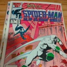 Cómics: WEB OF SPIDER MAN 23 VOL 1 MARVEL SPIDERMAN (1985 SERIES). Lote 246192925