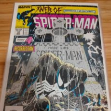 Cómics: WEB OF SPIDER MAN 32 VOL 1 MARVEL SPIDERMAN (1985 SERIES) KRAVEN'S LAST HUNT 4. Lote 246193465