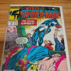 Cómics: WEB OF SPIDER MAN 34 VOL 1 MARVEL SPIDERMAN (1985 SERIES). Lote 246193650
