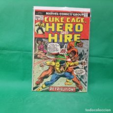 Cómics: LUKE CAGE, HERO FOR HIRE 14 - MARVEL 1973 / VG. Lote 246369510