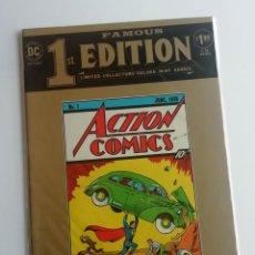 Cómics: 1ST EDITION: ACTION COMICS, CON LA PRIMERA APARICIÓN DE SUPERMAN. EDICIÓN GIGANTE.. Lote 246437675