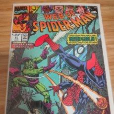 Comics: WEB OF SPIDER MAN 67 VOL 1 MARVEL SPIDERMAN (1985 SERIES). Lote 246532875