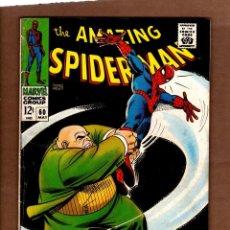Cómics: AMAZING SPIDER-MAN 60 - MARVEL 1968 FN / STAN LEE & JOHN ROMITA / VS KINGPIN. Lote 247483935