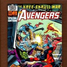 Cómics: AVENGERS : THE KREE SKRULL WAR SPECIAL EDITION 1 - MARVEL 1983 VFN. Lote 247491400