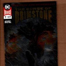 Comics : CURSE OF BRIMSTONE 7 - DC 2018 VFN/NM SILVER FOIL COVER / DARK NIGHTS METAL. Lote 247567505