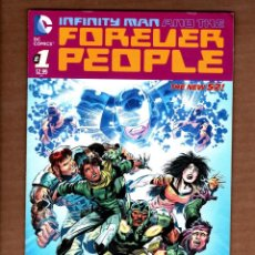 Cómics: INFINITY MAN AND THE FOREVER PEOPLE 1 - DC 2014 VFN/NM / KEITH GIFFEN. Lote 249140705