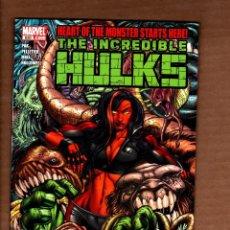 Cómics: INCREDIBLE HULKS 630 - MARVEL 2011 VFN/NM / GREG PAK / HEART OF THE MONSTER. Lote 249181395