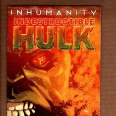 Cómics: INDESTRUCTIBLE HULK 16 / INCREDIBLE HULK 665 - MARVEL 2014 VFN+. Lote 249183405