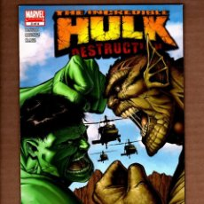 Cómics: INCREDIBLE HULK DESTRUCTION 2 - MARVEL 2005 VFN+ / PETER DAVID. Lote 275471083